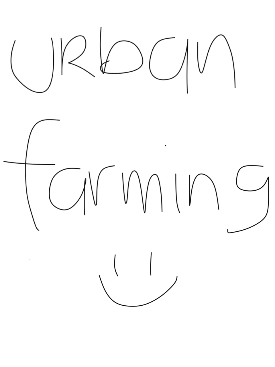 First, let's learn organic farming!